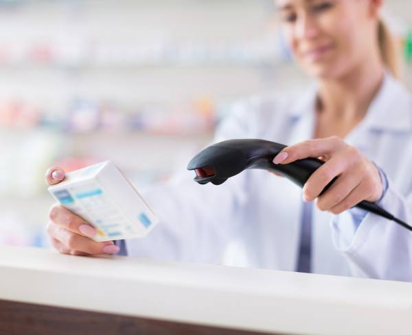 scanning medication barcode